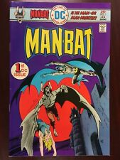 Man-Bat #1 (December 1975, DC Comics)