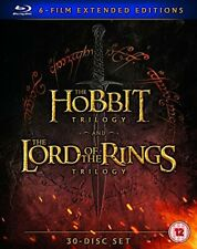 Hobbit Trilogy/The Lord Of The Rings Trilogy: 6 Film Extended Edition Blu-Ray