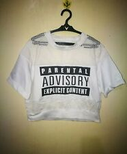 TOP MESH INSET CROPPED SIZE M