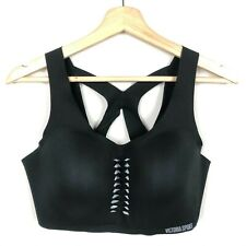 Victoria's Secret Angel Max Sports Bra Black Size 38DD