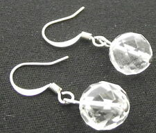 Hook Silver Plated Quartz Fashion Earrings