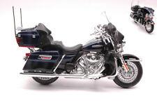 Harley Davidson Flhtk Electra Glide Ultra Limited 2013 Blue / Black Moto 1:12