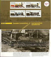 1984 CANADA LOCOMOTIVES 1860-1905 Thematic Collection #29 MNH << SEALED >>
