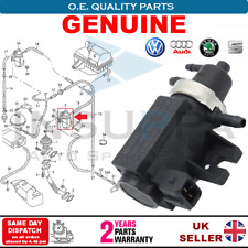 GENUINE TURBO BOOST PRESSURE CONTROL SOLENOID EGR VALVE FOR SKODA VW AUDI SEAT