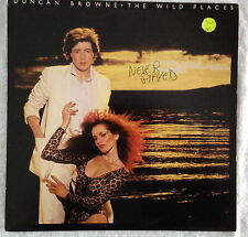 DUNCAN BROWNE (LP) The Wild Places (Sire Records SRK 6065) 1978