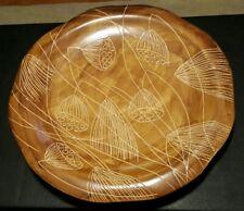 "Large 21"" Decorative Ceramic Display Plate"