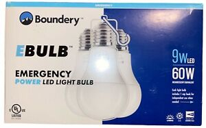 LED Emergency Light Bulb (3-Pack) by BOUNDERY