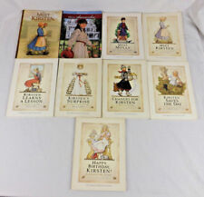 American Girl Lot of 9 Books Kirsten Molly Samantha Birthday Gift Collect