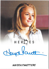 Heroes Archives Auto Autograph Card Hayden Panettiere Claire Bennet Cheerleader