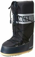 Moon Boot Nylon, Stivali da Neve Unisex Adulto - 140044 001 MOON BOOT BLK