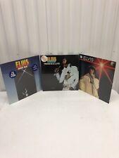 Elvis Presley Vinyl - [3] Lot Sealed New!