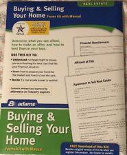 Brand New Adams K311 Buying or Selling Your Home Kit, forms and instructions