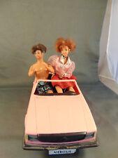 Meritus Pink Covertible Car Barbie size Ken redhead dolls make believe playtime