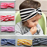 Colorful Baby Cotton Twisted Turban Knot Headband Newborn Girl Hair Accessory
