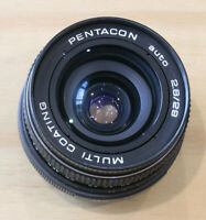 Pentacon Auto 2.8/29mm Multi Coating wide angle lens with m42 mount