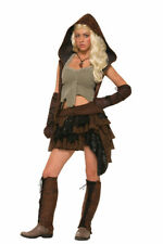 Womens Medieval Rogue Warrior Costume Standard Size 6-14