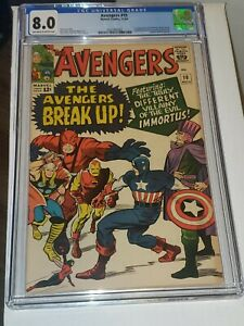 Avengers 10 1964 CGC 8.0 1st appearance of Immortus pressable?