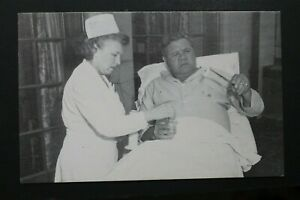 Babe Ruth in Hospital #4 New York Yankees 3x5 Unsigned 1985 TCMA Postcard