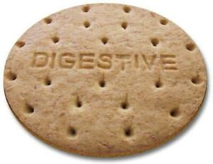 Digestive Biscuit - Round Computer Mousemat
