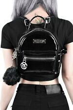 Darcy Mini Backpack Gloss Rugzak Gothic NEW