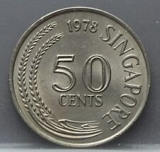 Singapore - 50 Cents 1978 - KM# 5