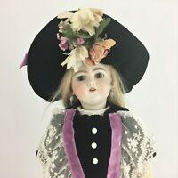 "Simon & Halbig 16"" 1249 DEP Santa Bisque Head Ball-joint body Doll Germany c1900"
