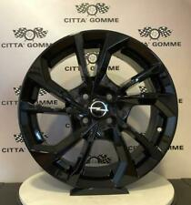 "Cerchi in lega Opel CROSSLAND X DA 16"" NUOVI OFFERTA SUPER TOP ESSE5 BLACK TOP"