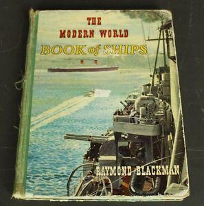 The Modern World Of Ships - Nautical Themed Boats Sailing Navy Battleships Book