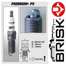 1x BRISK Iridium Premium + Zündkerzen P5 (1623) BP5+