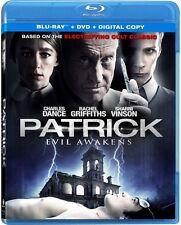 Patrick: Evil Awakens (Blu-ray + DVD) Charles Dance, Rachel Griffiths NEW
