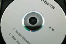 RIHANNA - RUSSIAN ROULETTE / WAIT YOUR TURN - Promo DVD Single - MINT!   cd