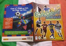 Album Calciatori 2001 2002 panini VUOTO PERFETTO OMAGGIO CON INSERTI E FIGURINE