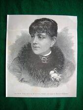 Nel 1886 la prima mima signora Ernestina Operti