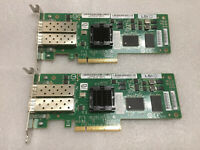 Lot of 2 | LSI 7204EP-LC Dual Port Host Bus Adapter PCIe 4Gb Fibre Channel