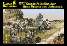Caesar 1/72 WWII German Fallschirmjager Heavy Weapons (16 Figures) H098