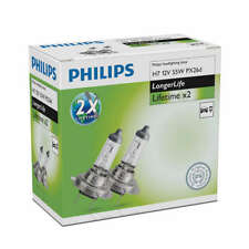 Coppia Lampadine Lampade Alogene lunga durat Philips H7 LongerLife 12V55W PX26d