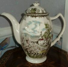 Johnson Brothers FRIENDLY VILLAGE Coffee Pot