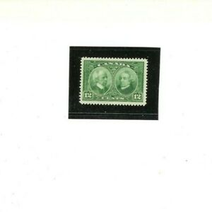 """CANADA STAMP # 147  MVLH F-VF   """"Laurier & Macdonald""""  1927 issue"""