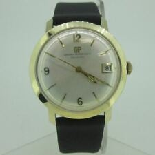 Vintage Girard Perregaux Gyromatic Swiss Automatic 14k Solid Gold Watch