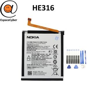 Battery HE316 HE317 HE335 Nokia 6 N6 X6 - 3000 MAH