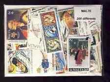 Malte - Malta 200 timbres différents