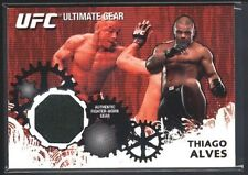 THIAGO ALVES 2010 TOPPS UFC ULTIMATE GEAR FIGHTER RELIC WORN PATCH SP $15