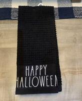 "Rae Dunn - HOCUS POCUS HAPPY Halloween Kitchen Towel Set of 2 - 16""x26"" -  NWT"