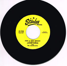 ARNOLD PARKER - FIND A NEW WOMAN / PEOPLE LAUGH AT A FOOL (Starday Rockabilly RI