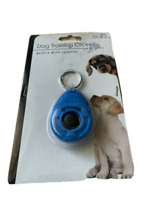 DOG TRAINING CLICKER/TEACHING TOOL/DOGS/ PUPPY/ PUPPIES BLUE