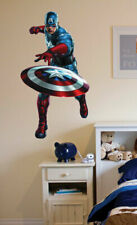 Marvel Avengers captain america wall stickers kids children stickers wall deco