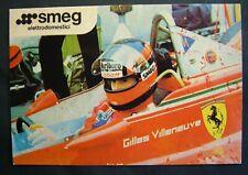 SMEG  Pubblicitaria     Formula 1   Gilles  VILLENEUVE