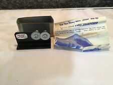 New listing Rada Quick Edge knife sharpener With Instructions & Box Black