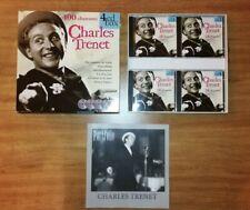 Coffret Box (4 cd) Charles Trenet 100 CHANSONS (1998)