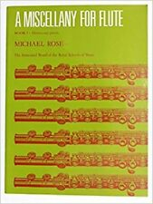 A Miscellany for Flute Book 1 ABRSM Sheet Music Book I #P555